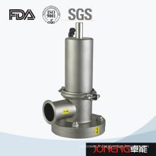 Vanne inférieure de réservoir sanitaire en acier inoxydable (JN-DV2008)
