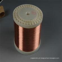 Diâmetro 0,12 mm-3,00 mm Fio de alumínio revestido de cobre Fio esmaltado CCA para bobinas de voz
