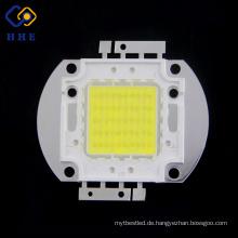 Die leistungsfähigste 6000k 1750mA 5500lm 32v 50w weiße Hochleistungs-Leuchtdiode führte für Flut-Licht