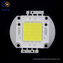 Most Powerful 6000k 1750mA 5500lm 32v 50w White High Power Light Emitting Diode Led for Flood Light
