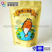 Steh auf Reißverschluss Food Grade Bag für Snack Food