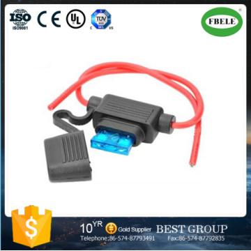 Custom 32V Waterproof Inline Automotive Mini Blade Fuse Holder (FBELE)