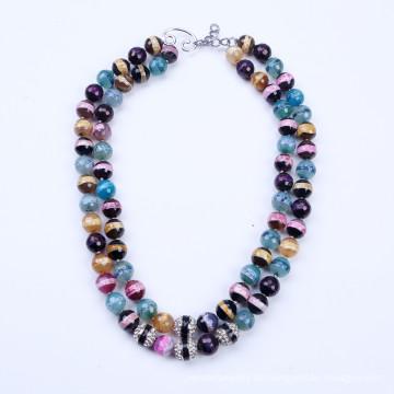 Bunten Stein Sommer Halskette