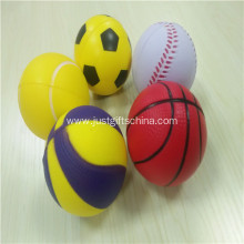 Promotional Pu Ball Shaped Stress Balls