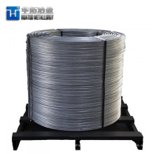 Alambre ferrocloroso de calcio del alambre competitivo del precio de fábrica del alambre de cobre de la fabricación de acero