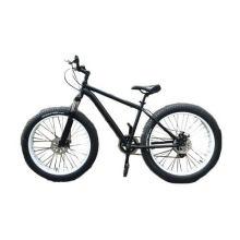 """26"""" Mountain Matte Black 6s Men 26*4.0 Big Snow Tire Fat Tire Bike"""