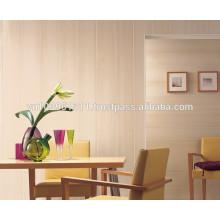 Diverses conceptions, panneau en plastique de panneau de PVC brillant et facile à nettoyer