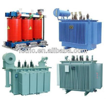 Трехфазные 0.4kv/11kv/20kv/33kv65kv/220kv 25kva-650MVA нефти типа погружных и сухой трансформатор распределения