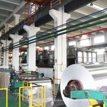 Bobine de rouleau jumbo de papier d'aluminium domestique 8011