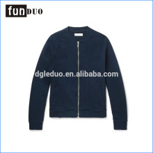 OEM manufacturing wholesale ribbed cotton bomber casual jacket