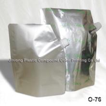 Foil Spout Bag with Bottom Gusset