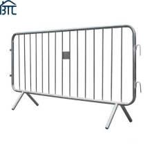 2.300 Mtr Wide X 1.100 Mtr High Hot Dipped Galvanized Pedestrian Barrier / Crowd Control Barrier.
