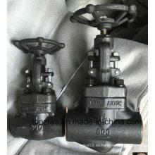 Válvula de acero forjado A105 Globe