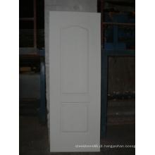 Pele de porta moldada HDF branco revestido (pele da porta)