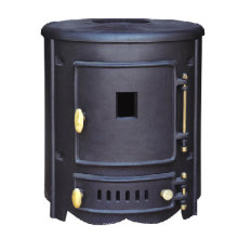 Чугунная печка, дровяная печь (FIPA018)