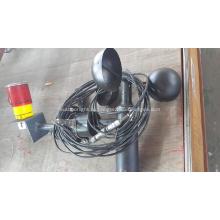 Электрический анемометр с датчиком солнечного света