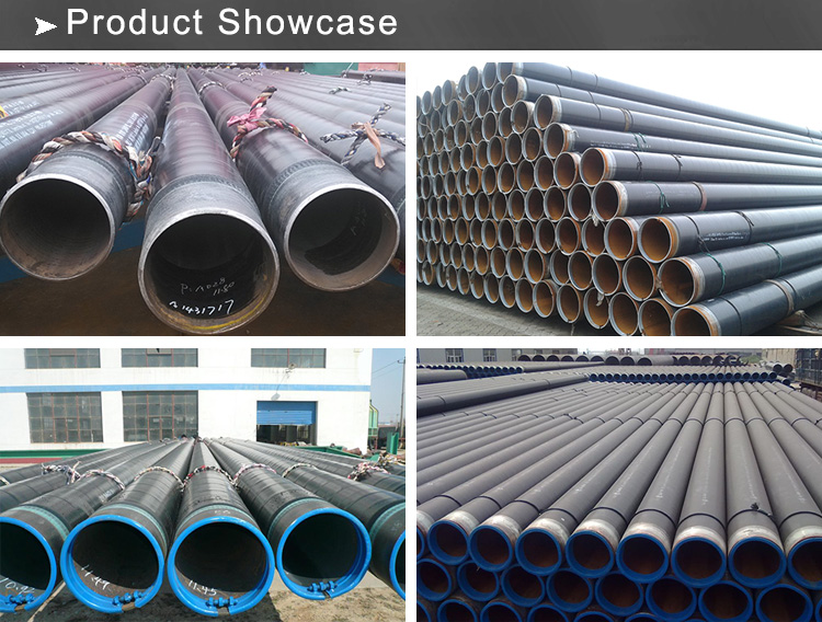3pe steel pipe showcase