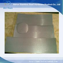 Placa corrugada de acero inoxidable poroso, Filtro de metal de electrodo de placa