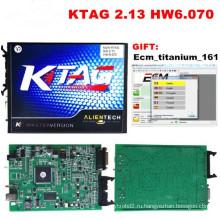 Ktag мастер инструмент программирования ЭБУ V2.13 ECU чип тюнинг не ограниченный токен Fw V6.070
