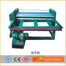 Automático de color simple hoja de metal de acero aplanamiento de la máquina con bajo precio