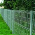 pvc coated welded galvanized curved wire mesh fence