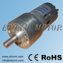 50 rpm permanent magnet 12v 32mm dc gear motor
