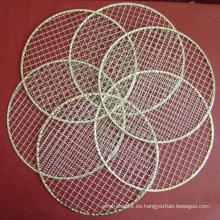 Malla de alambre redonda de la barbacoa / malla de alambre del Bbq