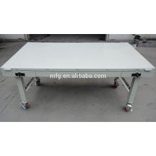 Aluninum Tisch / Aluninum Tischgestell / Blechumformung