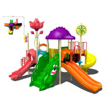 Lldpe Plastic Steel Recreation Child Outdoor Playground Equipment For Park