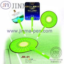 The Plastic Multifunctional Promotiom Pen Jm-01 with a Fan