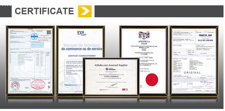 certificate of baler