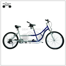26 Inch city style tandem bike for 2 people