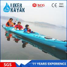 5.5m LLDPE barco de carreras de kayak