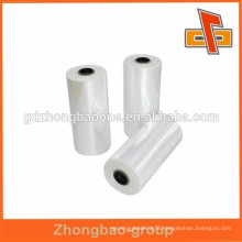 China wholesale PVC wrap in heat shrink plastic film for sleeve label printing