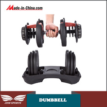 24kg Ajuste Dumbbell Fitness Equipment Dumbbell