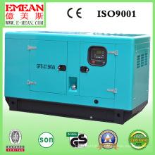 30kVA // 50kVA Chinês Soundproof Weifang Caterpillar gerador diesel