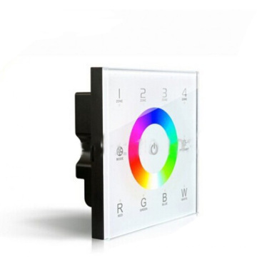 LED rgbw touch panel DMX512 controller RGBW wall mounted,for LED rgbw strip