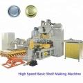 High speed basic shell aluminum caps making