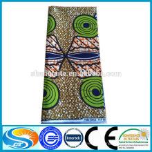Сделать на заказ африканскую 100% хлопковую печать восковую ткань 6 метров
