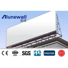2M width 4mm glossy color Aluminium Composite Panel directional/advertising signboard