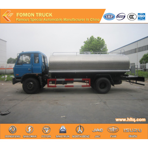 Dongfeng 145 stainless steel water spray truck