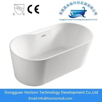 White stand alone 71 inch bathtubs