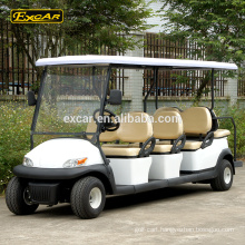 EXCAR High Quality 8 Seater Electrical Golf Cart 48V golf car for sale