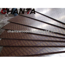 black film faced shuttering plywood/good film faced plywood price
