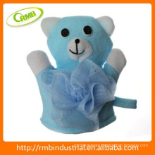 17*18cm baby toy bear sponge bath