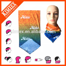 Multi tube customized polyester seamless scarf headwear