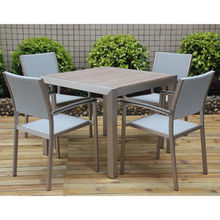 Plywood Outdoor Dining Set, Fashionable and Innovative Style