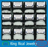 High thermal resistance cz stone white round cubic zirconia stone
