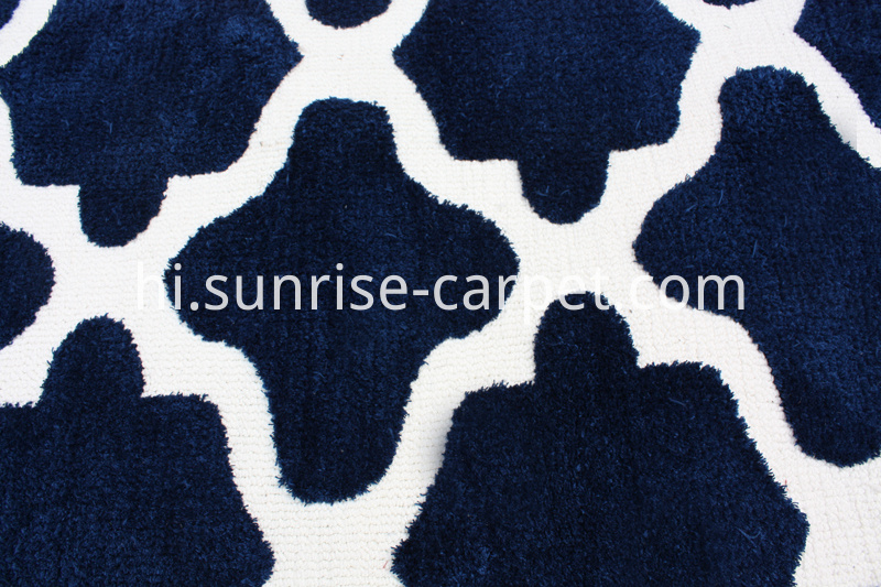 Microfiber Shaggy with Geometry Design