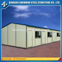 Cadre en acier préfabriqué Moderne Durable Petite petite maison mince Chine